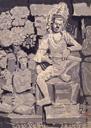 印尼八世紀廟雕塑