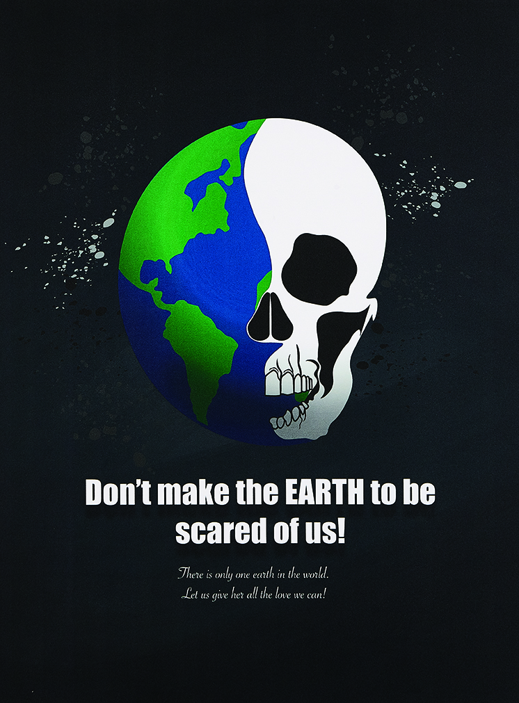 Don't make the EARTH to be scared of us!